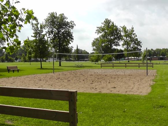 Mies Park Sand Volleyball Court