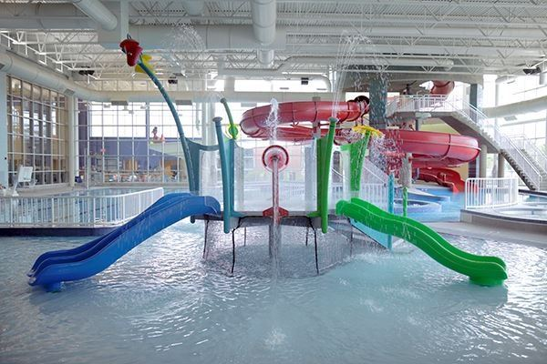 Livonia Rec Center Leisure Pool