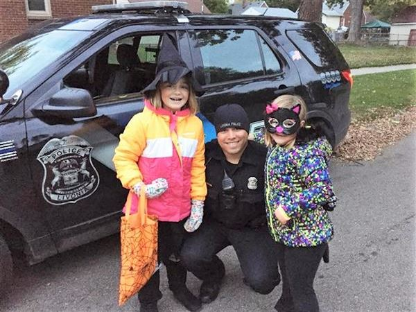 Kids with LPD on Halloween
