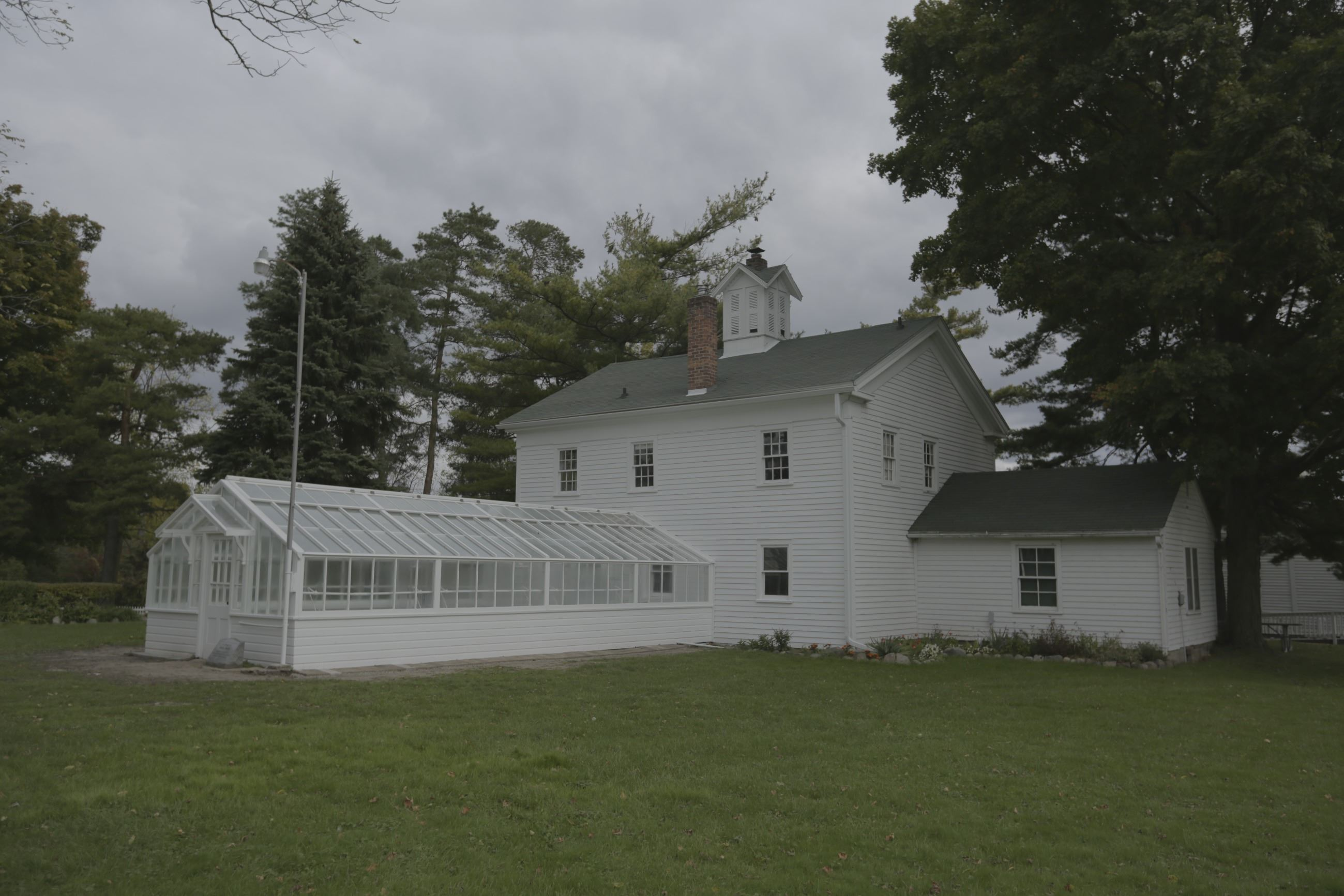 Greenhouse and Carriage House