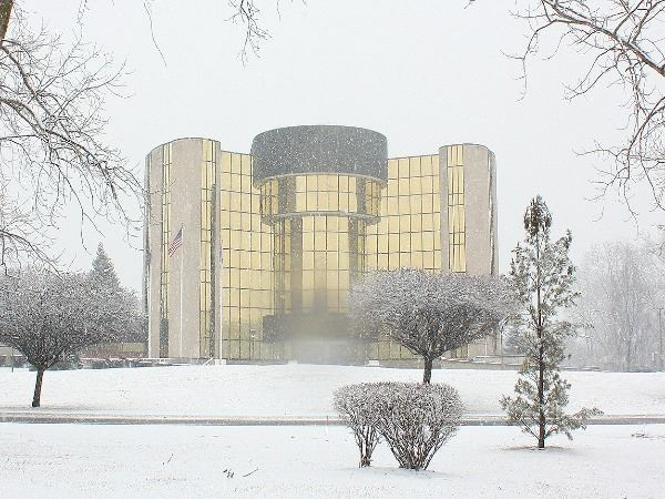 Livonia City Hall Winter Photo