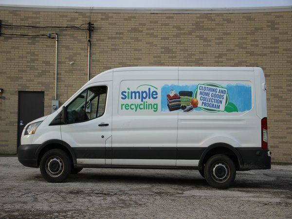 Simple Recycling Truck