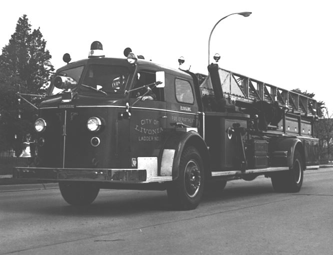 Livonia Ladder Truck from 1973